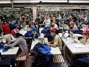 泰国纺织服装企业有计划将其生产线转移到越南
