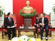 越日友好议员小组主席苏辉瑞会见日本崎玉县知事