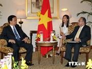 越南政府总理接见印度大型集团领导
