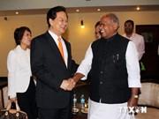 越南政府总理阮晋勇开始对印度进行正式访问
