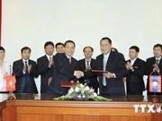 越南通讯社与老挝通讯社进一步加强合作