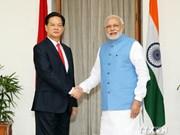印度承诺帮助越南推进国防军队现代化
