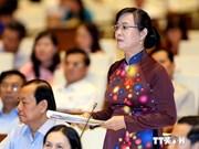 越南第十三届国会第八次会议讨论经济社会发展情况