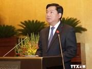 越南第十三届国会第八次会议发表第八号公报
