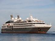 五星级L'austral号极地邮轮抵达海防港