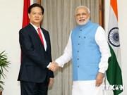 印度媒体积极评价阮晋勇总理对印度的访问
