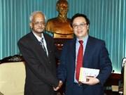 印度共产党代表团对越南进行工作访问