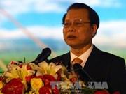 2014年朔庄九龙江三角洲经济合作论坛开幕