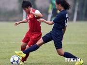 2015年亚洲U19女足锦标赛预选赛:越南U19女足队打败了新加坡U19女足队