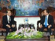 越南政府副总理阮春福会见日本人事院事务总长吉田耕三