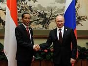 印度尼西亚与俄罗斯及日本加强合作