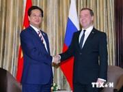 阮晋勇总理会见俄罗斯总理和澳大利亚总理