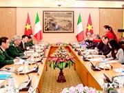 越意首次副部长级国防政策对话会在河内举行