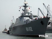 越南海军舰艇编队对印尼进行友好访问