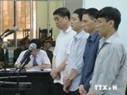 越南Vinalines公司贪污案:四名被告人被判处15至20年不等的有期徒刑
