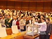 越南领导人信任投票结果正式对外公布