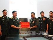 越南和柬埔寨国防部加强人事合作