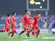 2014年东南亚足球锦标赛热身赛:越南队以3比1击败马来西亚队