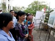 面向越南文化遗产日:芹苴市举行越南遗产摄影大赛图片展