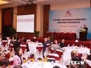 越南首次主办第14届亚欧非正式人权研讨会在河内召开