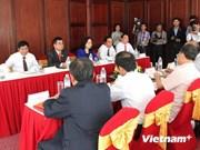 越共中央宣教部代表团访问老挝