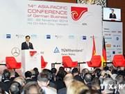 越南政府总理阮晋勇出席第14届德国经济亚太会议
