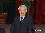越共中央总书记阮富仲访俄前夕接受俄通社专访