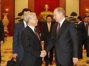 越共中央总书记阮富仲启程访问俄罗斯和白俄罗斯