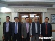 越共中央宣教部代表团访问印度