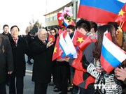 越共中央总书记会见俄罗斯联邦共产党主席