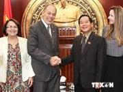 越南加强与巴西议会合作