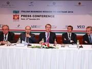 越南与意大利企业加大合作力度