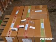 越南新山一机场海关查获运往柬埔寨的3000片成瘾性药品