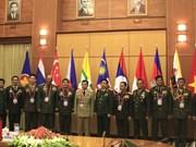 越南国防部部长会见东盟陆军司令代表团