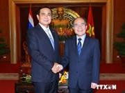 越南国会主席会见泰国总理