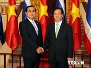 越南政府总理阮晋勇同泰国总理巴育举行会谈