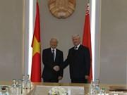越共中央总书记会见白俄罗斯国民会议共和国院主席