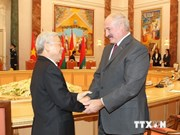 越共中央总书记阮富仲致电白俄罗斯总统表示感谢