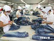 越南纺织服装出口总额同比大幅增长