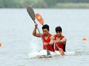 2014年第七届越南全国体育大会:皮划艇与赛艇比赛正式开赛
