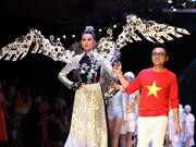 越南首次承办的国际时装周在胡志明市开幕
