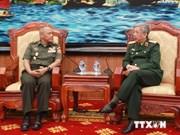 越南国防部领导人会见印尼客人