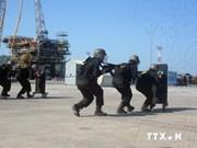 越南航海局开展反恐演练确保航行安全