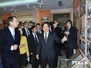 俄罗斯国家杜马主席与越南河内国家大学学生交流