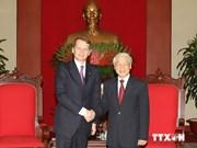 越共中央总书记会见俄罗斯联邦国家杜马主席