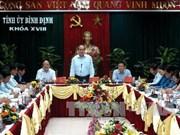 阮善仁同志出席越南南中部—西原地区各省统战工作会议