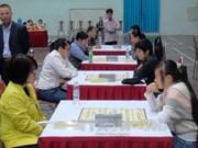 第七届越南全国体育大会:象棋和国际象棋比赛暨潜泳比赛同日开赛
