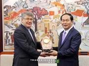 越南公安部长陈大光会见俄罗斯联邦驻越南大使