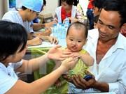 越南平阳、平福两省唇腭裂患者接受免费手术450多列