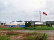 越南投资与发展银行向广义省越新工业区各项目提供贷款